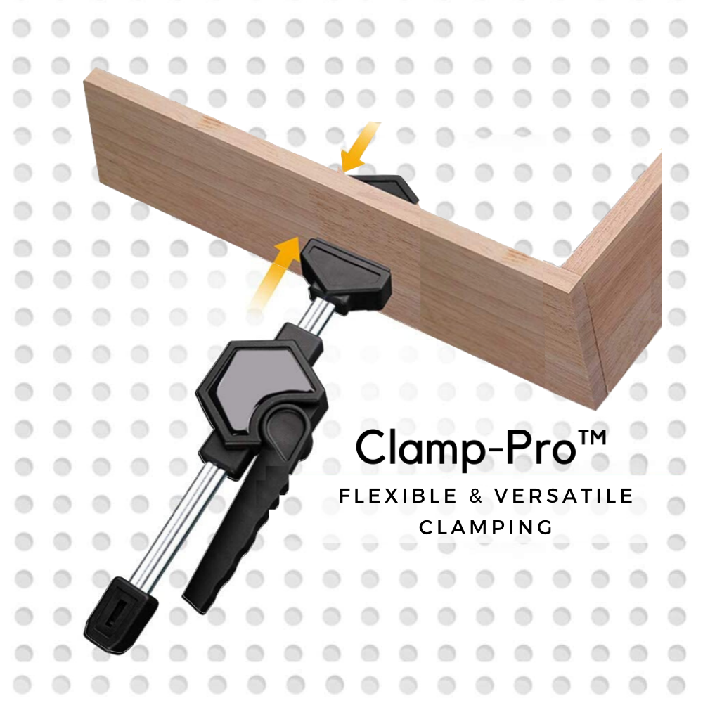 Clamp-Pro™ Woodworking Fast Clip Clamp