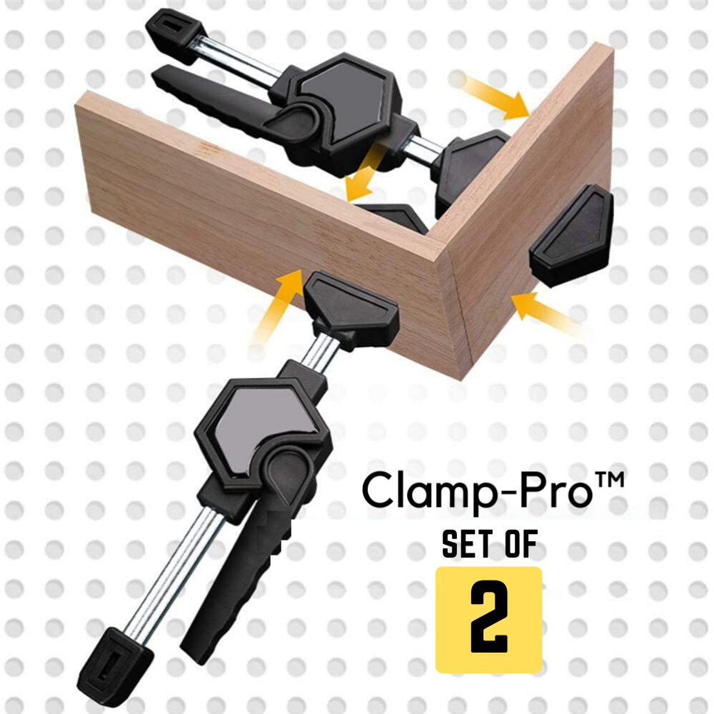 Clamp-Pro™ Woodworking Fast Fixed Clip Clamp