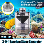 WALTER 3-in-1 Aquarium Stone Separator