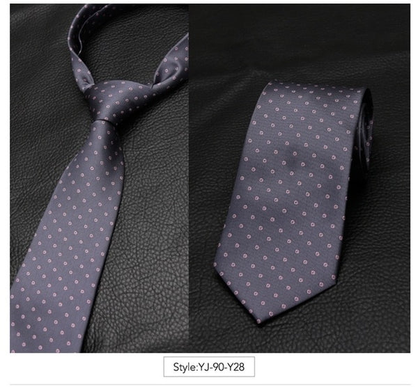 Men Tie Fashion Classic Business Necktie Casual Ties