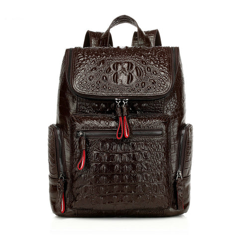Women Backpack High Quality Split Leather