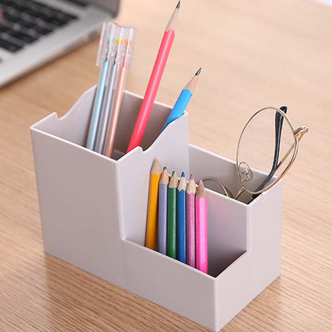 Multi-function Storage Pen Holder With Mobile