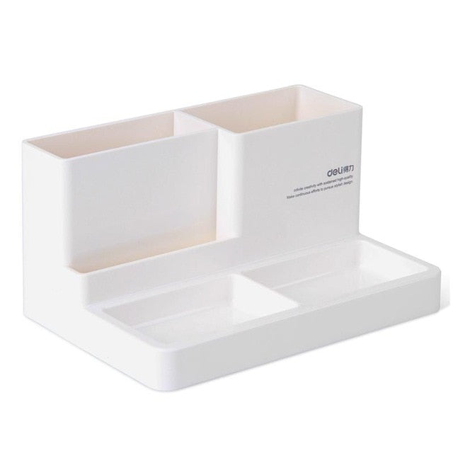 new Stationery Holder Desk Accessories Rubber Feet Box Stationery