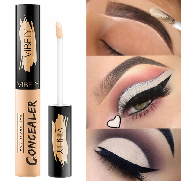 5 Color Eye Concealer Liquid Makeup Base