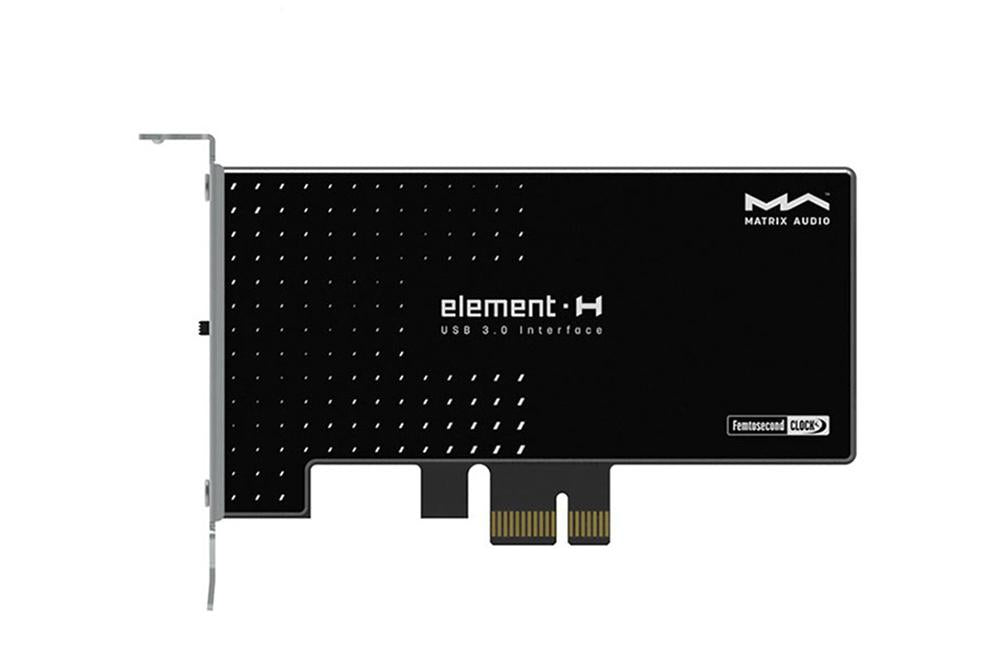 Matrix element H Hi-Fi USB 3.0インターフェイス