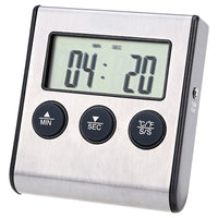Digital LCD Cooking Probe Thermometer Timer