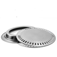 stainless steel  outdoor Korean barbecue