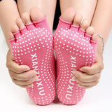Women Yoga Socks Half Toe