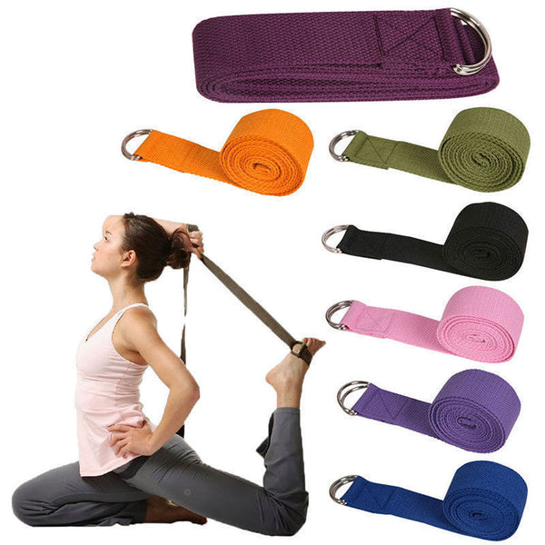 Yoga Stretch Strap Adjustable Belt
