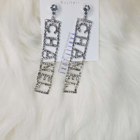 CHANEL Inspired Dangle Earring