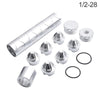 1/2-28 4003 Fuel Filter - WoWAutoPart 1/2''-28 Solvent Trap Kit for WIX 24003, Sliver
