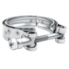 WoWAutoPart 2.5 Inch Stainless Steel V-Band Clamp and Mild Steel Male/Female Interlocking Flanges