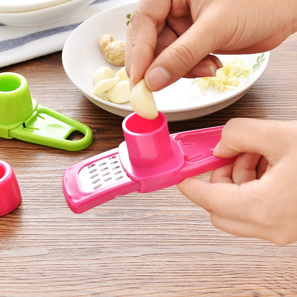 Multifunctional Garlic Slicer