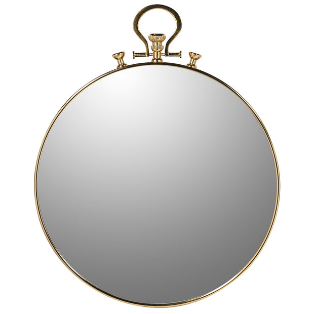 Large Pocket Watch Wall Mirror