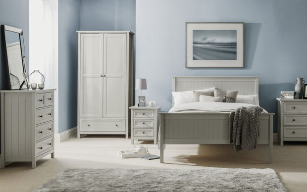 Mandy 6 Drawer Wide Chest Of Drawers - Dove Grey