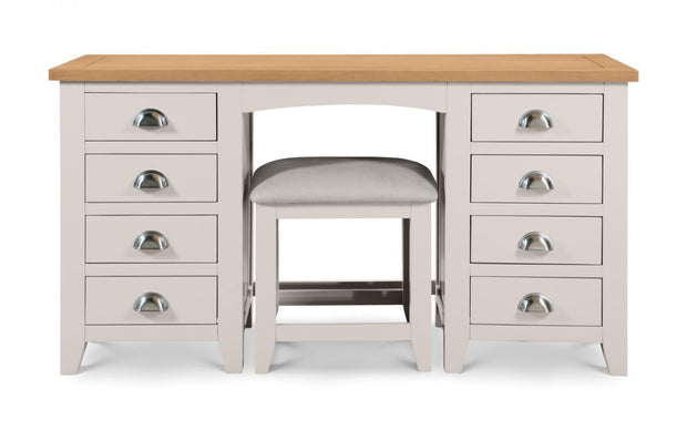 Radstock Twin Pedestal Dressing Table