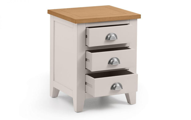 Radstock 3 Drawer Bedside Table