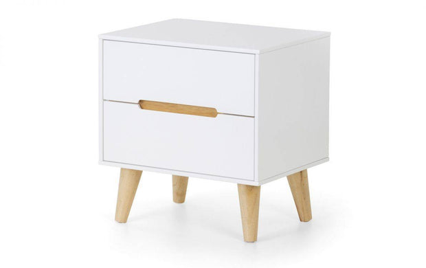 Alice 2 Drawer Bedside Table