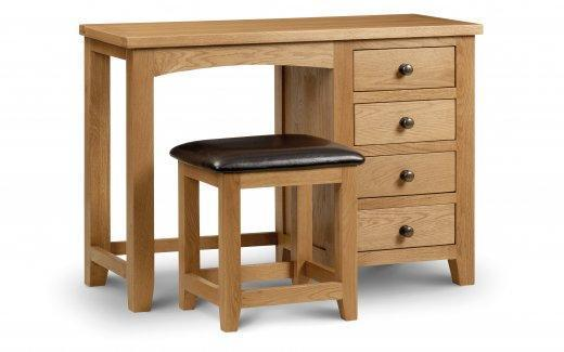 Marden Single Pedestal Dressing Table