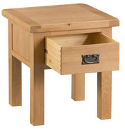 Tucson 1 Drawer Lamp Table