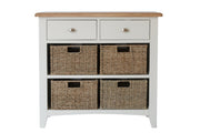 Garner 2 Drawer 4 Basket Unit