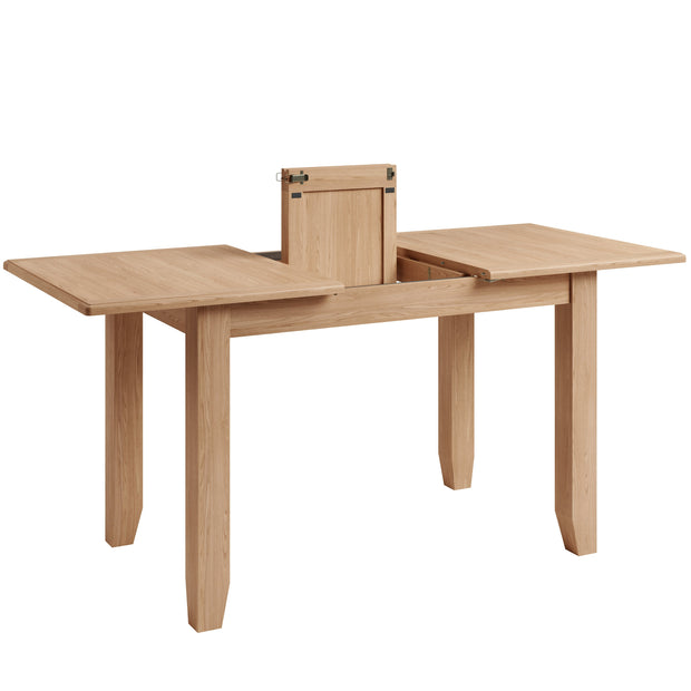 Eva 1.2m Butterfly Extending Dining Table Set