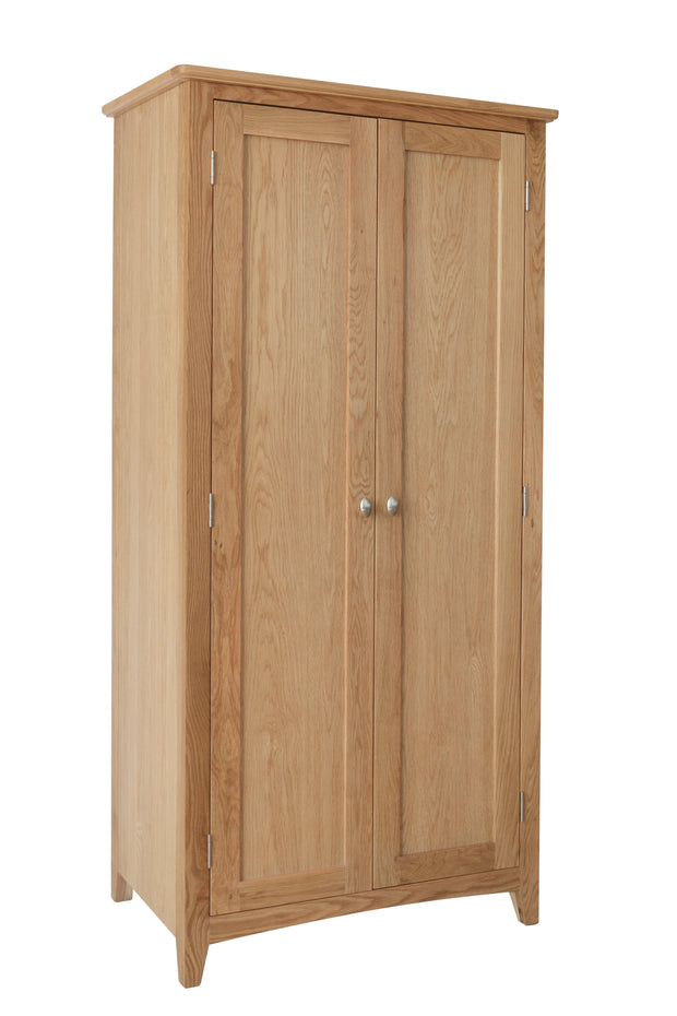Eva 2 Door Full Hanging Wardrobe