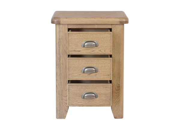 Hatton Large Wooden Bedside Table