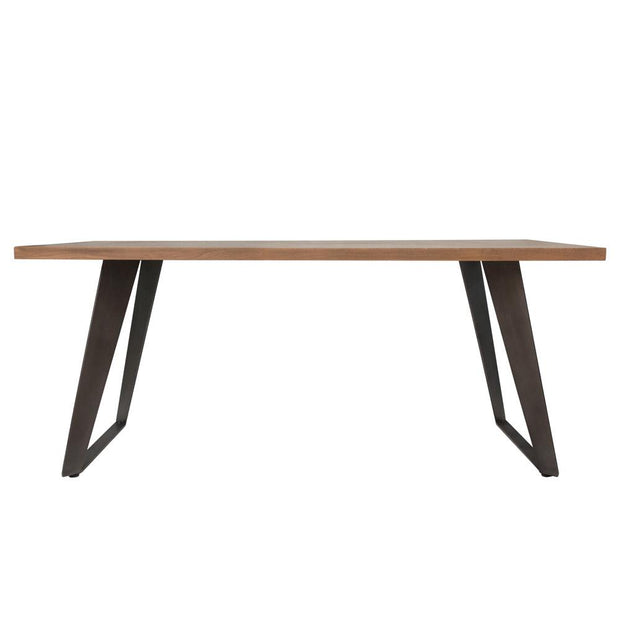 Chevron Fixed Top Dining Table - Various Sizes