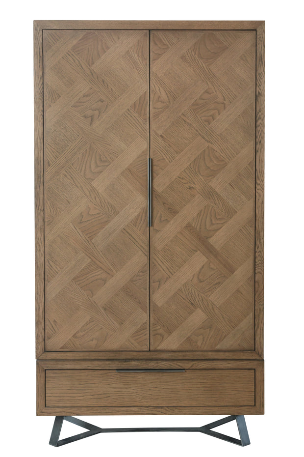 Chevron 2 Door Wardrobe