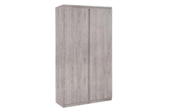 Jude 2 Door Wardrobe - Grey Oak