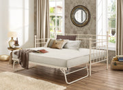 Lilly Steel Daybed - Black & Cream