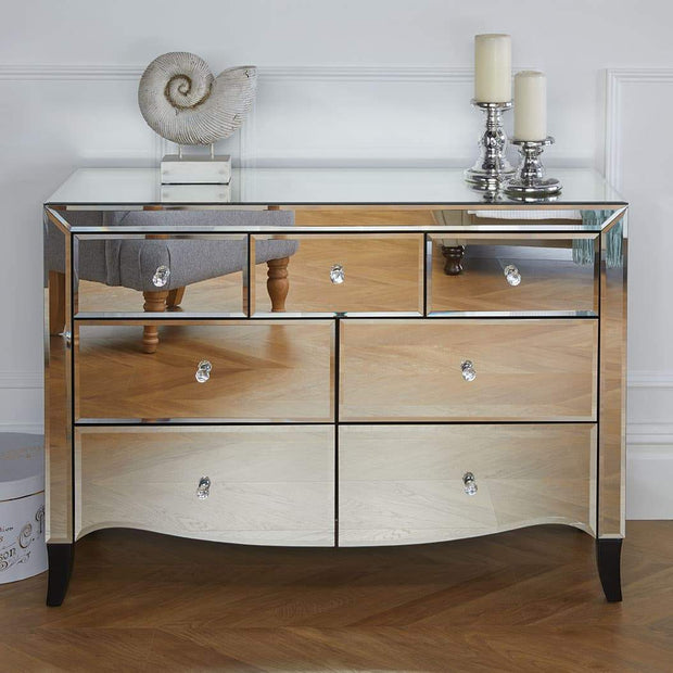 Palermo 3 Over 4 Chest Of Drawers