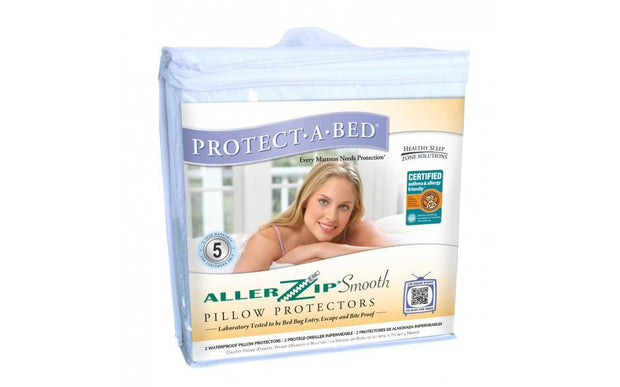 Protectabed AllerZip Smooth Pillow Protectors