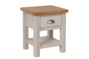 Portland 1 Drawer Lamp Table
