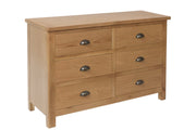Hampton 6 Drawer Chest Of Drawers
