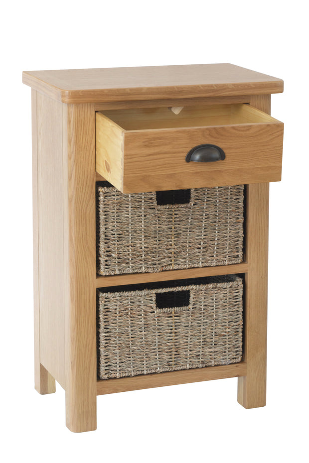Hampton 1 Drawer 2 Basket Unit