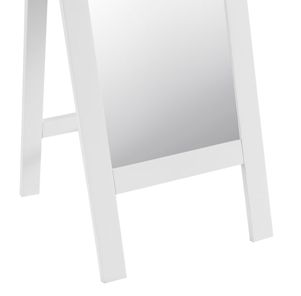 Hampstead White Cheval Mirror