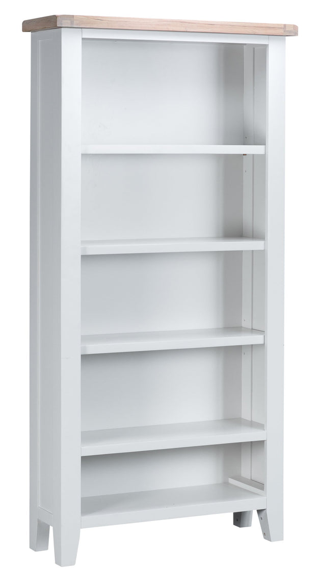 Hampstead White Large Bookcase