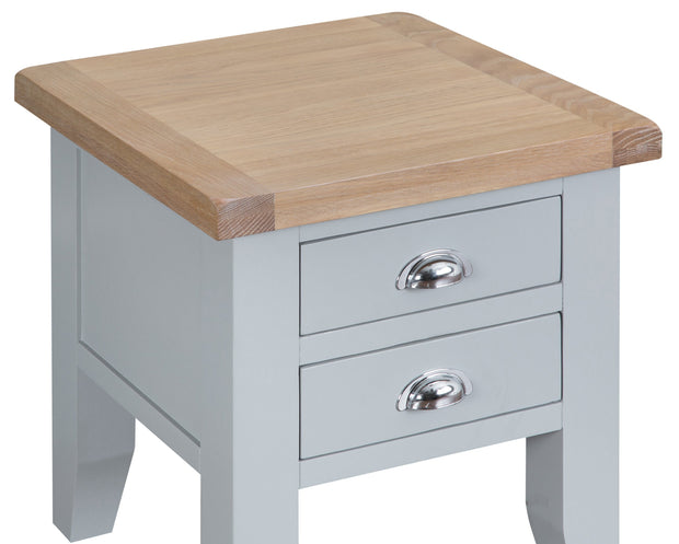 Hampstead Grey Lamp Table