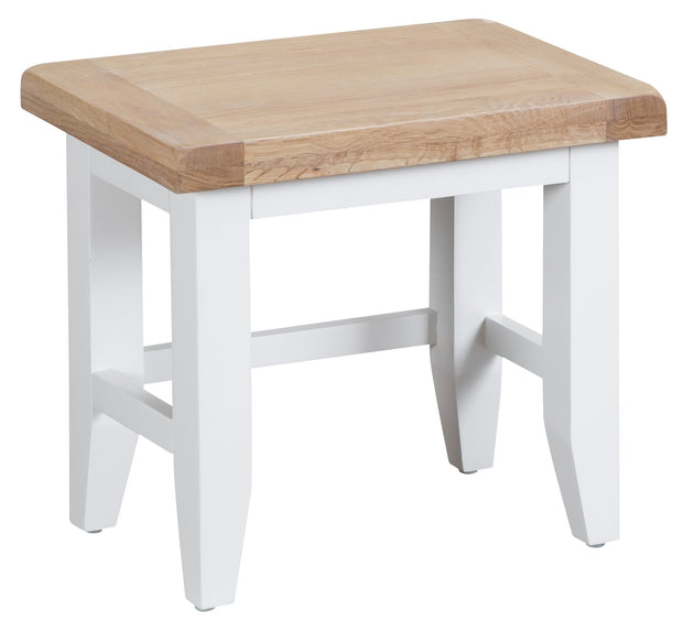 Hampstead White Nest Of 3 Tables