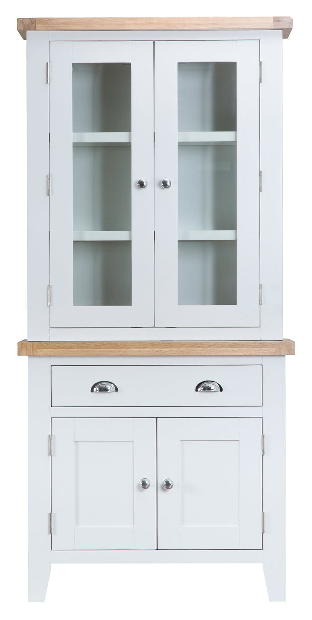 Hampstead White Small Dresser Top
