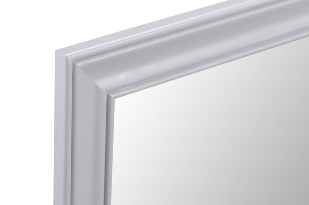 Hampstead Grey Small Wall Mirror