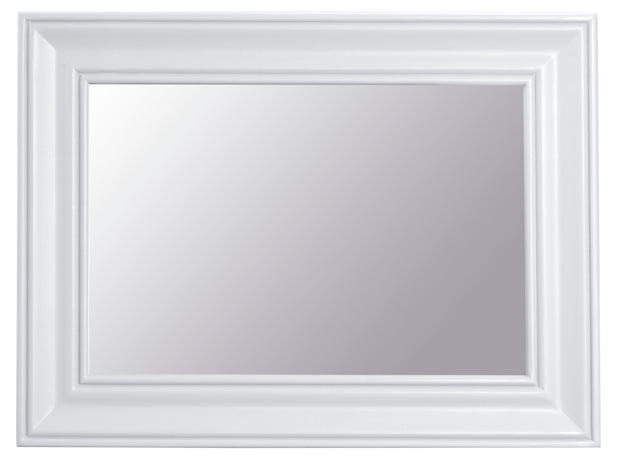 Hampstead White Small Wall Mirror