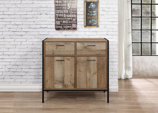 Rustic 2 Door 2 Drawer Sideboard