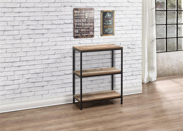 Rustic 3 Tier Bookcase