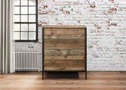 Rustic 4 Drawer Chest Of Drawers