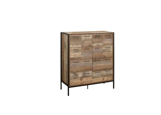 Rustic Merchant Chest Of Drawers
