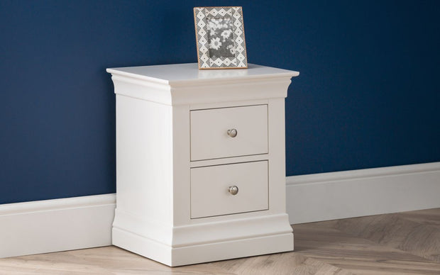 Clement 2 Drawer Bedside Table