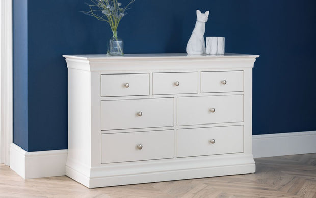 Clement 4+3 Drawer Chest Of Drawers